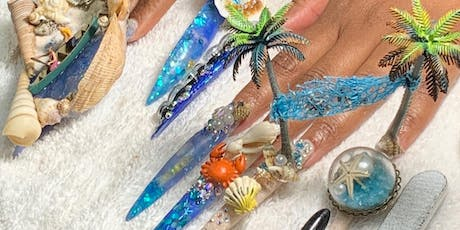 Rep Your State Nail Battle/ Nail Design 101 Magazi tickets