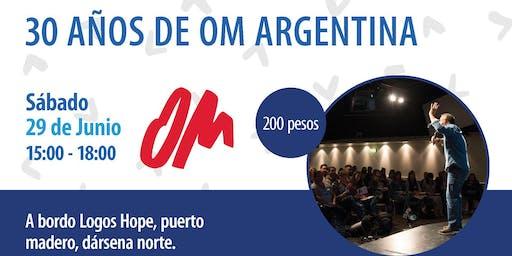 30 años de OM Argentina