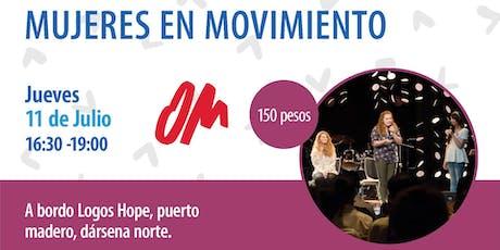 Mujeres en Movimento entradas