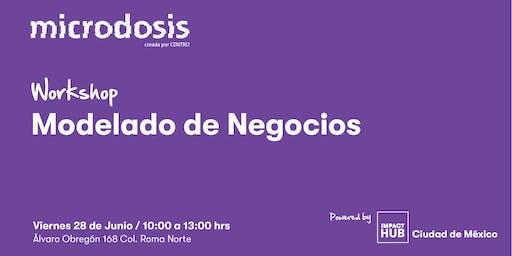 """Microdosis Centro """"Modelado de Negocios"""""""