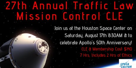 27th Annual Traffic Lawyers of Texas CLE tickets