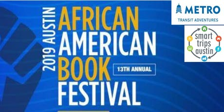 Smart Trips Austin: Transit to African-American Book Festival tickets
