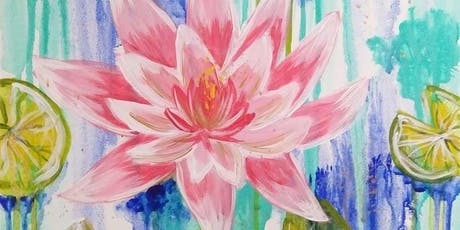 Water Lily Bloom, Monday Night Paint Party tickets