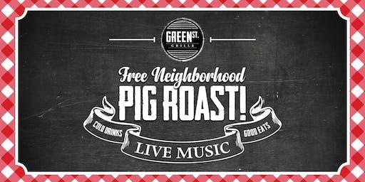 Free Neighborhood Pig Roast