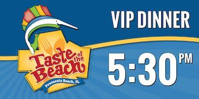 2019 Taste of the Beach VIP Dinner 5:30 PM Trolley