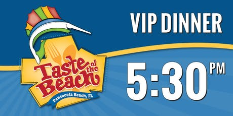2019 Taste of the Beach VIP Dinner 5:30 PM Trolley tickets