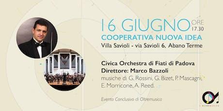 16 Giugno: Concerto Conclusivo di Oltremusica biglietti