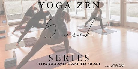 Yoga Zen 5 Week Series tickets