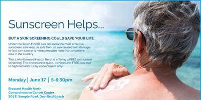 Free Skin Screening Event with Jason Green, DO, Dermatology