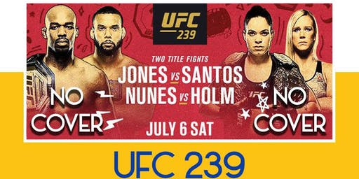 UFC Fight 239 Jones VS Santos Fight night at the Forum [NO COVER]