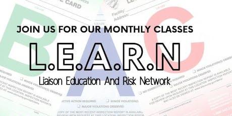 L.E.A.R.N. Class tickets