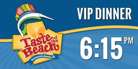 2019 Taste of the Beach VIP Dinner 6:15 PM Trolley tickets