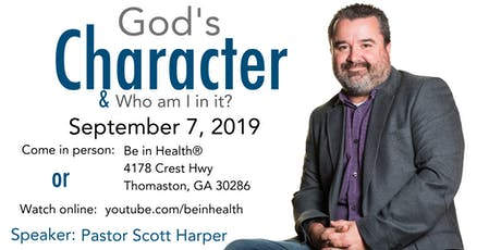 God's Character & Who am I in it? tickets