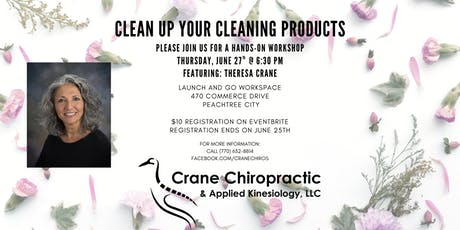 Clean Up Your Cleaning Products tickets