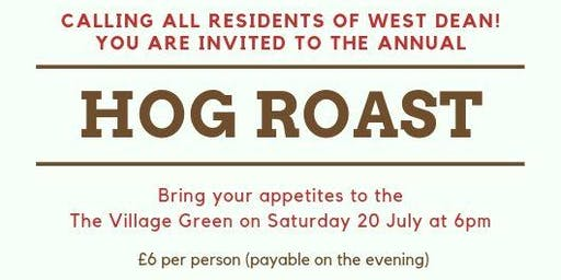 West Dean Hog Roast