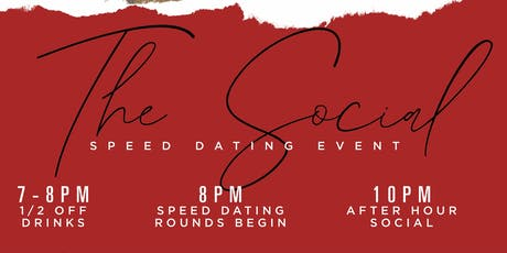 The Social: Speed Dating Event / Happy Hour @DrinkHaus Supper Club tickets