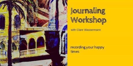 Journaling and Travel Sketchbook Workshop tickets