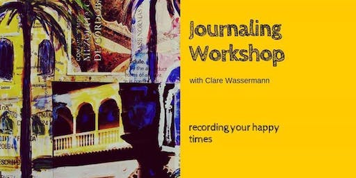Journaling and Travel Sketchbook Workshop