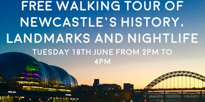 Free walking Tour of Newcastle