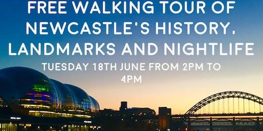 Free walking Tour of Newcastle