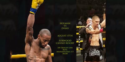 Dwayne Holman vs Tom Evans