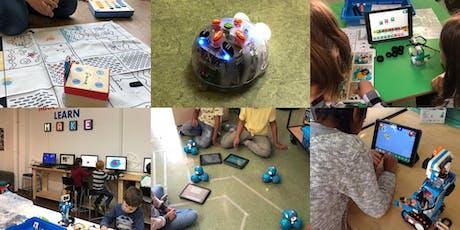 FabLabKids: Entdecke die Welt der Roboter und Programmierer 4.0 - Feriencamp Tickets