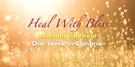Heal With Bliss - Meditation Retreat with QC Ellis tickets