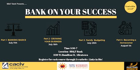 Bank On Your Success Part 2- Growing Your Business  tickets