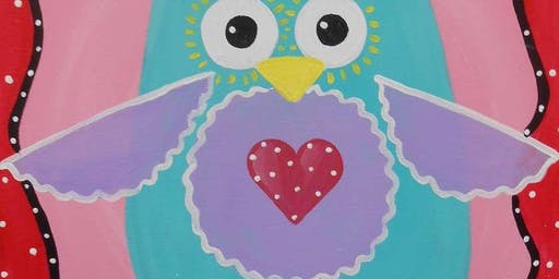 Cute Hoot Wednesday Morning Paint Party