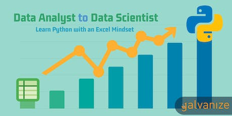 Data Analyst to Data Scientist: Learn Python with an Excel Mindset tickets