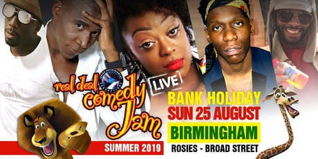 Real Deal Comedy Jam tickets