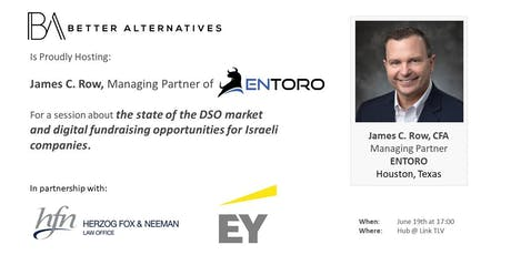DSOs — State of the Market and Opportunities for Israeli Firms tickets