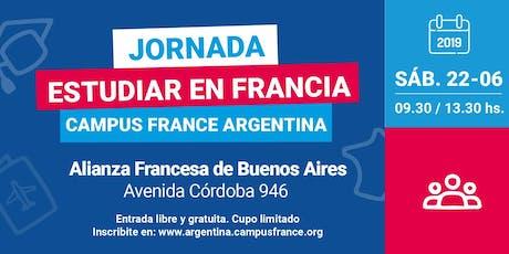 Jornada ESTUDIAR EN FRANCIA en Buenos Aires entradas