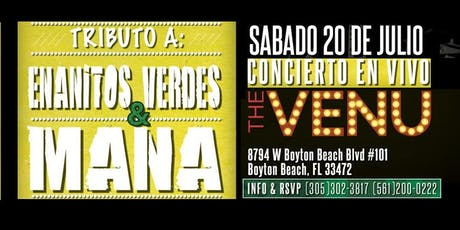 Tributo en vivo a Enanitos Verdes & Mana tickets