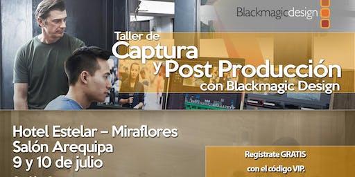 Taller de Captura y Post Producción