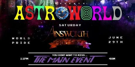 ASTROWORLD - MAIN EVENT tickets