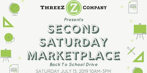 Second Saturday Marketplace - Back To School