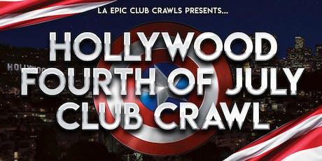4th of July Los Angeles - Hollywood Club Crawl tickets