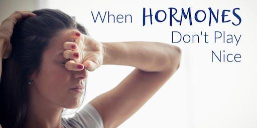 Stress, Hormones, and Health: Free Seminar