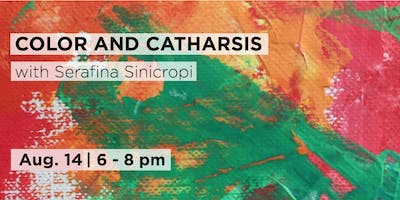 Color and Catharsis: Painting with Palette Knives with Serafina Sinicropi