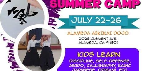 Alameda Aikikai Kid's Summer Camp tickets
