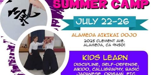 Alameda Aikikai Kid's Summer Camp