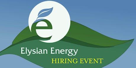 Elysian Energy Open Interviews tickets