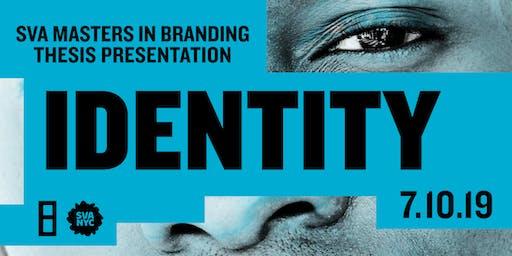 SVA Masters in Branding Thesis Presentation