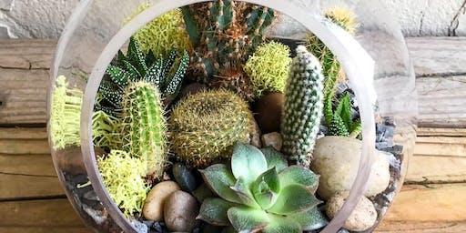Plant Therapy's Plants & Wine: Terrarium Workshop