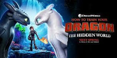 Film Club How to Train your Dragon The Hidden World tickets
