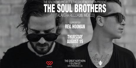 Soulo Thursday w/ The Soul Brothers at TGN Aug 15th, 2019 tickets