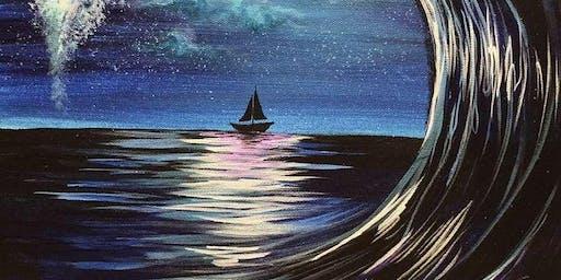 Moonlit Wave Thursday Night Paint Party