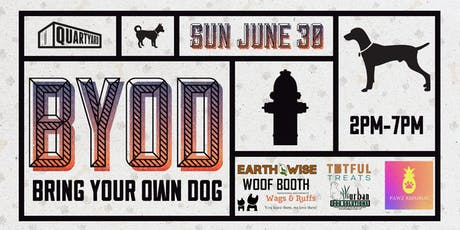 BYOD: Bring Your Own Dog tickets