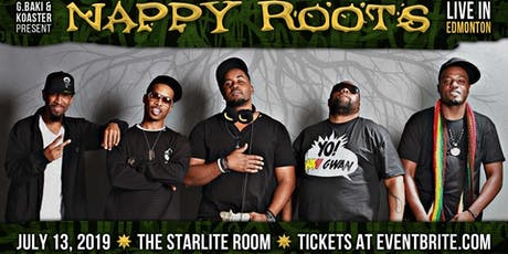 Nappy Roots Live In Edmonton w/ Special Guests tickets